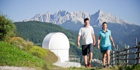 Hike to the star observatory at Obergummer